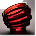 Orrefors Eko Red Bowl