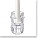 Orrefors Totem Harmony Candlestick Clear, Pair