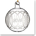 Marquis by Waterford 2016 Annual Ball Ornament