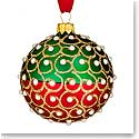 Waterford 2016 Holiday Heirloom Nostalgic Collection Christmas Pearls Ball Ornament