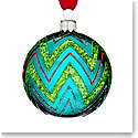 Waterford 2016 Holiday Heirloom Brights Powerscourt Ball Ornament