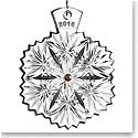 Waterford Snowflake Wishes Serenity Ornament 2016, Lavender Jewels