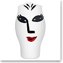 "Kosta Boda Open Minds 9 7/8"" White Vase"