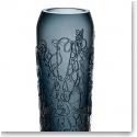 Kosta Boda Twine Small Vase, Grey
