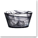 "Kosta Boda Mine 5 3/8"" Bowl, Black"