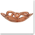 Kosta Boda Basket Small Bowl, Copper