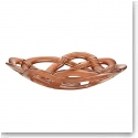 Kosta Boda Basket Large Bowl, Copper
