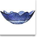 """Kosta Boda Organix Stormy Blue 13 3/4"""" Bowl"""