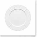 Kosta Boda Bruk White Porcelain Plate, Set of Four