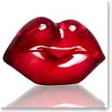 Kosta Boda Make Up Hot Lips, Raspberry