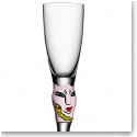 Kosta Boda Open Minds Shot Glass, Pink, Single