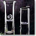 "Crystal Blanc 7.5"" Bud Vase"