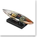 Kosta Boda Art Glass, Bertil Vallien Memory Boat, Limited Edition of 60