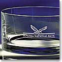 Crystal Blanc, Personalize! Carrington Bowl, Large