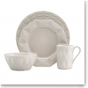 Lenox China Kate Spade Castle Peak Hazelnut 4 Piece Place Setting