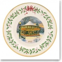 Lenox 2014 Holiday Collectors Plate, Carousel