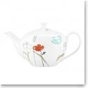Lenox China Poppy Street Teapot