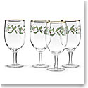 Lenox Holiday Iced Beverage, Set of 4