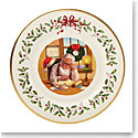 Lenox 2016 Holiday Collectors Plate, 26th Edition, Santa