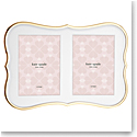 Lenox kate spade Crown Pt Gold Double Invitation Frame