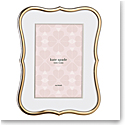Lenox kate spade Crown Pt Gold 4x6 Frame