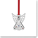 Lenox Jeweled Silver Angel Ornament
