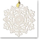 Lenox Annual 2017 Snow Fantasies Snowflake Ornament