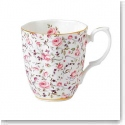 Royal Albert China New Country Roses Rose Confetti Vintage Mug