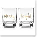 Lenox Kate Spade Sparkle and Shine Merry and Bright DOF, Pair