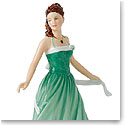 Royal Doulton China Pretty Ladies Birthstone Petites May - Emerald