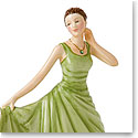 Royal Doulton China Pretty Ladies Birthstone Petites August - Peridot