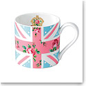 Royal Albert China New Country Roses Union Jack Cheeky Pink Modern Mug
