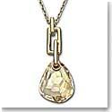 Swarovski Golden Shadow Parallele Mini Pendant Necklace