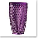 "Galway Crystal Amethyst Raindrop 10"" Vase"