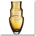 Orrefors Art Piece Martti Rytkonen Artemis Vase Amber Ltd. Ed. 100