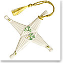 Belleek St. Brigid's Cross 2017 Ornament