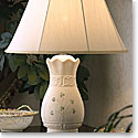 Belleek China Tara Lamp and Shade