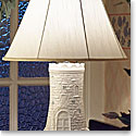 Belleek Shade For Castle Lamp