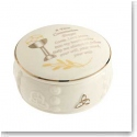 Belleek China Communion Prayer Box