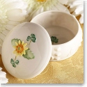 Belleek China Sunflower Box