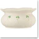 Belleek China Shamrock Lace Bowl