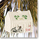 Belleek China Nells Cottage 2016 Ornament