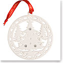 Belleek Living Christmas Forest Ornament
