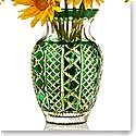 Waterford Jeff Leatham Fleurology Molly Emerald Cased Bouquet Vase, 12""