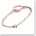 Baccarat Fleurs De Psydelic Large Bracelet, Vermeil and Light Pink