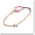 Baccarat Fleurs De Psydelic Vermeil and Light Pink Small Bracelet