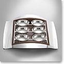 Nambe Metal Stainless Steel Seder Plate
