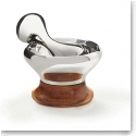 Nambe Metal and Wood Gourmet Novo Mortar and Pestle