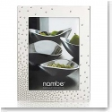 "Nambe Metal Dazzle 5x7"" Picture Frame"