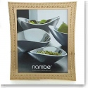 "Nambe Metal Beaded Gold 8x10"" Frame"